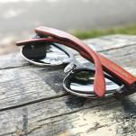 Dřevěné brýle DAWOOD – Ebenový elegán