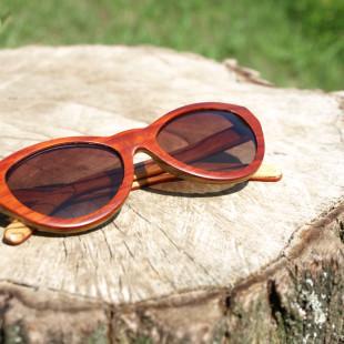 Marilyn - dřevěné brýle