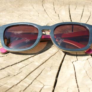 Dřevěné brýle - Vymazlený originál